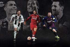 Van Dijk mơ lật đổ Messi, Ronaldo ở 'FIFA The Best 2019'