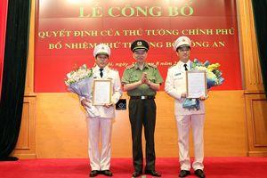Trao Quyết định Bổ nhiệm chức vụ Thứ trưởng Bộ Công an đối với Trung tướng Lương Tam Quang và Thiếu tướng Nguyễn Duy Ngọc