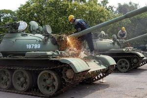Serbia tốn mớ tiền xử lý 700 xe tăng T-55 thành 'đồng nát'?