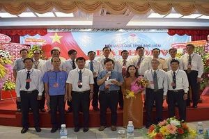 Đại hội Hội Luật gia tỉnh Bạc Liêu lần thứ V, nhiệm kỳ 2019 - 2024