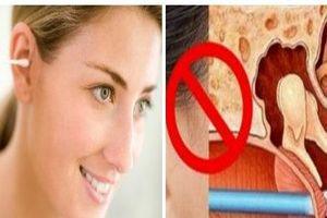 Nguy cơ tử vong nếu có thói quen dùng tăm bông ngoáy tai sau mỗi lần tắm gội