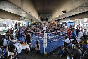 Boxing gầm cầu ở nơi đầy rẫy giết chóc giữa các băng nhóm giang hồ