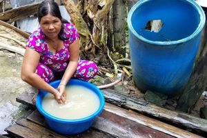 Chủ động phòng ngừa dịch bệnh cho nhân dân vùng lũ