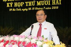 Kỷ luật Chủ tịch hội đồng nhân dân TP. Hà Tĩnh và Trưởng ban Tổ chức Thành ủy