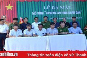 Hiệu quả từ mô hình 'Camera An ninh nhân dân' tại phường Đông Vệ