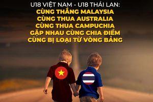 Biếm họa 24h: U18 Việt Nam và U18 Thái Lan chung nỗi buồn