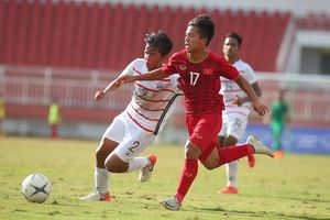 Clip: Trọng tài mắc sai lầm ở trận U18 Việt Nam 1-2 U18 Campuchia
