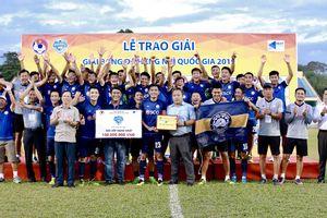 Bà Rịa Vũng Tàu vô địch Giải hạng Nhì Quốc gia 2019