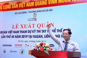 Quảng bá trình độ tay nghề Việt Nam ra thế giới