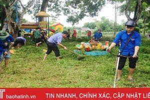 Tuổi trẻ Hà Tĩnh hành động hưởng ứng kỷ niệm 20 năm 'Chiến dịch thanh niên tình nguyện hè'