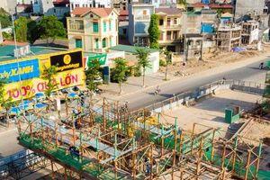 Cận cảnh đại công trường vành đai 3 Mai Dịch - Nam Thăng Long gấp rút thi công