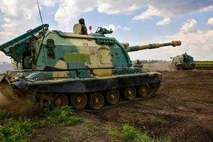 Mãn nhãn 'đại pháo' 2S19M1 152mm của Nga