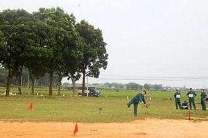 Thị xã Sơn Tây: Tổ chức hội thao quốc phòng lực lượng dân quân tự vệ