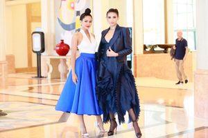 Võ Hoàng Yến tung váy, H'Hen Niê xoay người pose dáng cực đỉnh khiến fan 'nổi da gà'