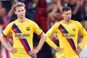 Không Messi, Barca thua sốc Bilbao ngày ra quân La Liga