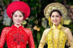 Quán quân 'Vietnam's Next Top Model' Mai Giang lần hiếm hoi tái xuất, đọ catwalk với Hoa hậu Myanmar