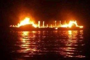 Indonesia: Cháy tàu khách khiến 7 người thiệt mạng, 4 người mất tích