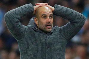 Aguero tỏ thái độ với Pep Guardiola sau quyết định thay người