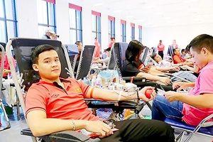 Nhiều hoạt động hiến máu tình nguyện