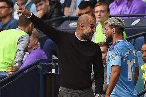 Toàn cảnh việc Sergio Aguero gây hấn với HLV Pep Guardiola trên sân Etihad