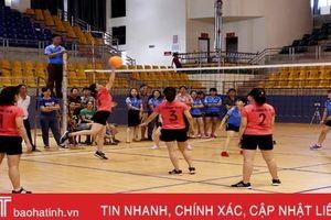 Sở LĐ-TB&XH Hà Tĩnh vô địch Giải bóng chuyền hơi nữ Khối VHXH - Hành chính tổng hợp