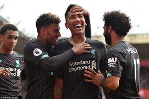 Liverpool thắng sát nút Southamton để tạm vươn lên vị trí đầu bảng