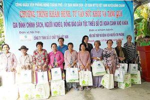 VWS trao quà dịp Vu lan cho 300 hộ dân nghèo ở Bình Chánh