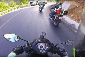 Làm thế nào để vượt 'cua tử thần' ở núi Sơn Trà an toàn bằng xe máy?