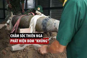Người chăm sóc thiên nga ở Hải Phòng phát hiện bom 'khủng' dưới sông Tam Bạc