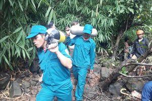 Tìm kiếm 3 thanh niên mất tích ở thác nước: Chưa tiếp cận được trung tâm dòng thác