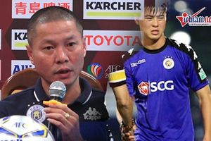 Bán kết AFC Cup: Hà Nội FC 'khủng hoảng', Duy Mạnh bị đau vẫn phải thi đấu