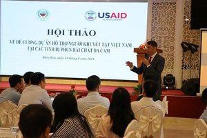 USAID tài trợ 50 triệu USD hỗ trợ người khuyết tật tại Việt Nam