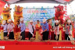 Khởi công nâng cấp mở rộng đường Nguyễn Hoàng và thay thế hệ thống đèn chiếu sáng bằng đèn LED