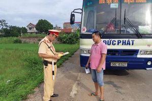 Thanh Hóa: Công an các huyện đẩy mạnh đợt cao điểm xử lý phương tiện vi phạm
