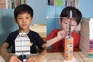 Cậu bé 7 tuổi bất ngờ nổi tiếng với 100 thí nghiệm khoa học