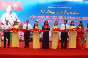Khai mạc triển lãm 'Đồng Nai thực hiện Di chúc của Chủ tịch Hồ Chí Minh'