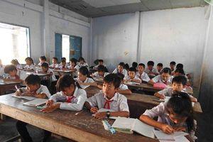 Sớm xây lại phòng học tại Trường THCS Lương Thế Vinh