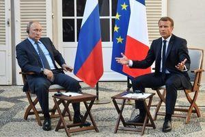 Tổng thống Pháp: Nga đóng vai trò đặc biệt quan trọng trong giải quyết các cuộc khủng hoảng