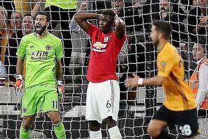 Wolves 1 - 1 Man Utd: Pogba bỏ lỡ quả phạt đền