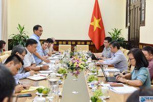 Đoàn Công tác của Bộ Chính trị làm việc với Bộ Ngoại giao