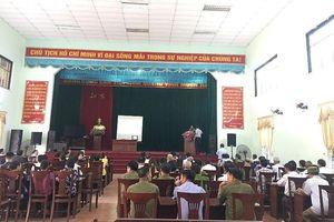 Bắc Ninh: Phổ biến giáo dục pháp luật tại các xã trọng điểm về an ninh, trật tự