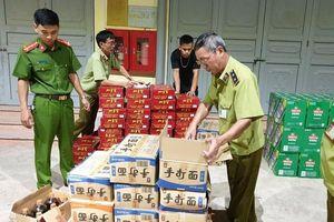 Chặn đứng gần 3.830 sản phẩm thực phẩm do Trung Quốc sản xuất