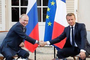 Lãnh đạo Pháp tin tương lai nước Nga gắn chặt với châu Âu