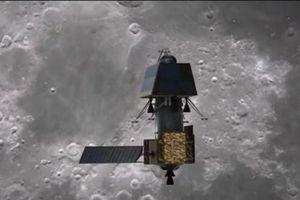 Tàu Chandrayaan 2 của Ấn Độ đi vào quỹ đạo Mặt Trăng