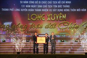 Phát triển Long Xuyên xứng tầm đô thị kiểu mẫu của Đồng bằng sông Cửu Long