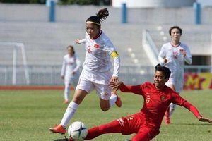 Tuyển nữ Việt Nam tiếp tục thị uy tại AFF Cup bằng thắng lợi 4 sao