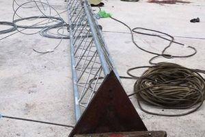 Gãy cột ăng ten, 2 công nhân Đài Truyền thanh - Truyền hình huyện tử vong