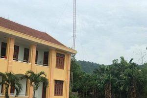 Quảng Bình: Gãy cột ăng ten, hai công nhân Đài PTTH huyện tử vong