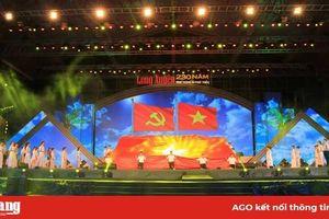 19 giờ 30 phút tối nay (20-8) diễn ra Chương trình Lễ kỷ niệm 'Long Xuyên 230 năm hình thành và phát triển'