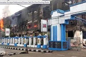 Bạo loạn tại Indonesia, hơn 250 tù nhân liều lĩnh vượt ngục